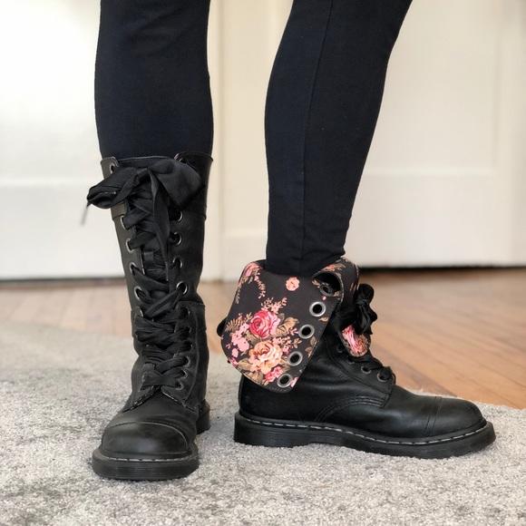 0c19c2fc03f Dr. Martens Aimilita Boots Black Leather